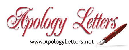 sample apology letters